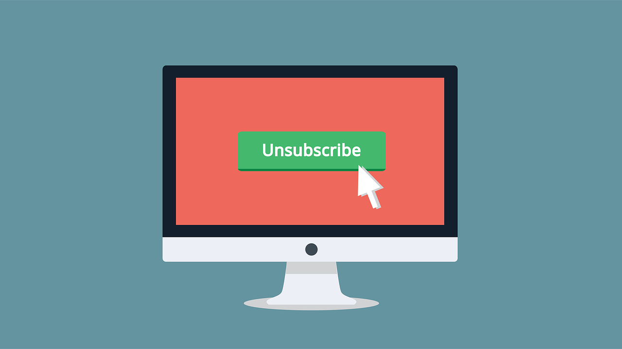 Unsubsribe for email